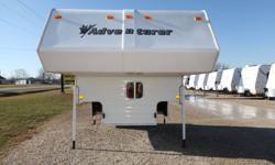 - FITS 8? BOX - FRIDGE W/FREEZER - POWER ROOF VENT - 6 GAL DSI WATER HEATER - 3 BURNER RANGE W/OVEN - ROOF AIR - FURNACE - BATHROOM - QUEEN BED - SIDE BUNK - ROOF LADDER - TINTED WINDOWS   RENAUD RV & POWERSPORT SALES 2558 COUNTY RD 20, HARROW, ON N0R