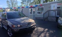 Make BMW Model X5 Year 2005 Colour bronze kms 189252 Trans Automatic Fresh Arrival -AWD. Extra clean, leather, sunroof Back up sensors Panoramic sunroof NO RUST This X5 drives excellent, well maintained. Safety and Etest Included SIMPLE PRICING ,ASKING