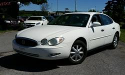 Make Buick Model Allure Year 2005 Colour White kms 133700 Trans Automatic 2005 Buick Century Custom 3.8l V6, Automatic, with Air Conditioning, Cruise Control, Power windows/locks/mirrors and seat. 133,700 km. Certified with E-Test included. Taxes are not