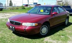 Make Buick Model Century Year 2005 Colour Red kms 132950 Trans Automatic 2005 Buick Century Custom 3.1l V6, Automatic, with Air Conditioning, Cruise Control, Power windows/locks/mirrors and seat. 132,950 km. Certified with E-Test included. Taxes are not