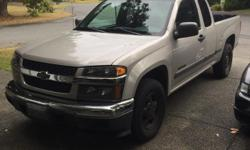Make Chevrolet Colour Silver Trans Manual kms 160000 Looking to sell or trade my 2005 5 cylinder manual transmission Chevy Colorado, truck been very good to me, brakes are new clutch is in great shape comes with brand new all terrain tires and canopy.new