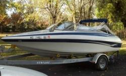 ONLY USED FOR ONE SEASON ,THIS BOAT IS STILL LIKE BRAND NEW .ONLY 31 HOURS ON THIS SPECTACULAR 19 FT LUXURIOUS AND SPORTY BOW RIDER POWERED BY A 3L VOLVO PENTA AND COMES WITH THE TRAILER . CALL 519-755-0400