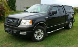 Make Ford Model F-150 Year 2005 Colour Grey kms 194000 Trans Automatic 2005 Ford F150 STX V8 4.6l V8, Automatic, ABS, A/C Bedliner, Running Boards, Tonneau Box 194,000 km. Certified with E-Test included. Taxes are not included in listing price. -- As two