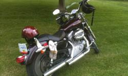 Selling 2005 Black Harley, asking $7000, will consider all negotiable offers. If you like what you see in the picture, please contact me