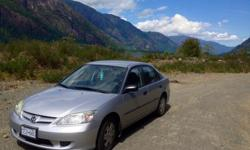 Make Honda Colour 2005 Trans Automatic kms 121557 2005 Honda Civic DXVP Express Special Edition Sedan, Automatic, 4 Doors Very clean, reliable car from BC with just under 122,000km. No rust and no exposure to salt! Recently replaced the battery, water