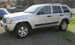 Make Jeep Model Grand Cherokee Year 2005 Colour Silver kms 147967 Trans Automatic Price: $6,988 Stock Number: 510-244a Interior Colour: Black END OF SUMMER SALE WHILE BOSS IS AWAYThis 2005 Jeep Grand Cherokee Laredo will change the way you feel about