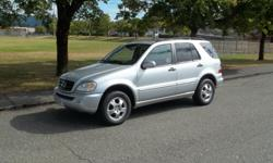 Make Mercedes-Benz Model ML350 Year 2005 Colour PLATINUM SILVER Trans Automatic BEAUTIFUL MERCEDES-BENZ SUV ALL WHEEL DRIVE CALL HART AT 250 724 3221 OR EMAIL ME FOR DETAILS ALL OF OUR VEHICLES COME WITH CARPROOF AND A 100 POINT SAFETY INSPECTION DONE IN