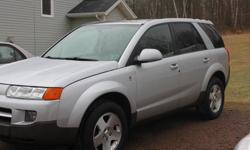 Make Saturn Colour Silver Trans Automatic kms 127437 2005 Saturn Vue All Wheel Drive $3,200.00 127,437 km Inspected until January, 2017 3.5 l automatic (250 HP Honda Engine) 5 speed auto transmission Auto windows & locks Cruise control CD player Remote