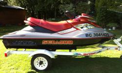 MINT CONDITION....215 HP....loads of fun...serviced and maintained by dealer....winterized and stored in shop...great for waterskiing, tubing or touring the lake...never used in salt water... Bought a larger RXT for our family otherwise I would not be
