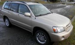 Make Toyota Model Highlander Year 2005 Colour Brown kms 245 Trans Automatic 2005 Toyota Highlander AWD....3.3 6cyl engine (good on fuel)automatic with overdrive--cruise control--power heated mirrors--power windows--power locks--power steering--cold air