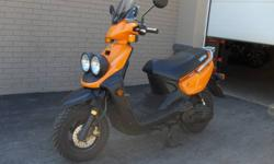 2005 Yamaha BW50, Orange, SC237U, One Owner, Windshield, New Tires, Performance Exhaust, only 7013 kms, $1499.00 Plus Tax & License See more than 60 brand new Yamaha models in our showroom.   Kelly's Cycle Centre   905-385-5977  We Eat, Sleep and Breathe