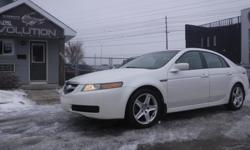 Make Acura Model TL Year 2006 Colour WHITE kms 166000 Trans Automatic 6 MONTHS WARRANTY WITH PURCHASE FOR FREE ! 2006 ACURA TL PREMIUM CAR !! V6 3.2L POWERFUL LUXURIOUS RIDE AND EASY ON GAS ! WITH AUTOMATIC TRANSMISSION, FULLY EQUIPPED, SUNROOF , FOG
