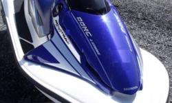 BLUE & WHITE, 2 SEATER, 1200cc, 125hp, 4 STROKE, 2 X STORAGE COMPARTMENTS   TRAILER NOT INCLUDED   www.1000islandsrv.com