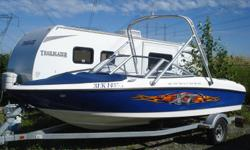 2006 Bayliner 185 XT 18 ft In good condition Serviced for the season Comes with trailer 135 horse power Email or call James for more information 778-231-8124 Email for more pics (uploader not working)