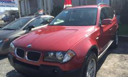 Make BMW Colour Red Trans Automatic kms 134000 Auto, 2.5L,5 doors, power locks and windows, power side mirrors,A/C, CD player, ABS, Traction, tire sensors,fog lights, rack,alloy rims, safety and etest, 134000km, $7900+ taxes