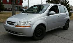 Make Chevrolet Model Aveo Colour SIlver Trans Automatic kms 239180 2006 Chevrolet Aveo LS Economical 1.6l 4 cylinder, Automatic, with Air Conditioning and CD player. 239,180 km. Certified with E-Test included. Taxes are not included in listing price. --
