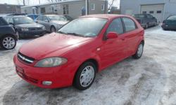 Make Chevrolet Colour Red Trans Automatic kms 120000 SALE PRICE !! 2006 CHEVROLET OPTRA 5 ,AUTOMATIC, AC , GREAT CONDITION ,LOW KMS ONLY 120 KMS ON IT , SAFETY AND E-TEST AND CAR PROOF IS INCLUDED IN ASKING PRICE, NO HIDDEN FEES , OR EXTRA CHARGES SIMPLE