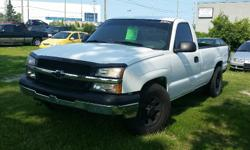 Make Chevrolet Model Silverado 1500 Year 2006 Colour White kms 168000 Trans Automatic 2006 Chevrolet Silverado 1500 4.3 V6, Automatic, A/C, Bedliner 168000KM Certified with E-Test. Taxes are not included in listing price. ----- As two retired gentlemen,