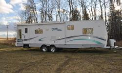 2006 31' Citation Supreme For Sale $31,500 OBO   Like brand new, used a few times a season, light green & beige interior, light cabinets and original owner.   - 31' of Rear Living Space - (2) Power slides - Queen Bed w/ bedside armoir - Underneath queen