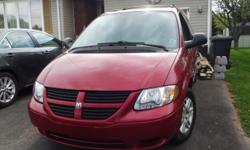 Make Dodge Year 2006 Colour Red Trans Automatic kms 160 Great van. Very clean interior and exterior in good condition. Cell 902-888-9451