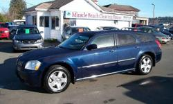 Make Dodge Model Magnum Year 2006 Colour Blue kms 167635 Trans Automatic Check out this fully loaded 2006 Dodge Magnum for only $11,288. Featuring The 5.7L V8 HEMI engine, AWD, leather interior, sunroof, tow package, keyless entry, alloy wheels plus much