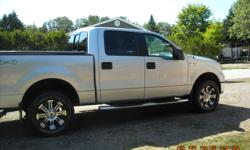 Make Ford Model F-150 SuperCrew Colour silver Trans Automatic kms 142000 For sale 2006 f150 xlt supercrew 4x4