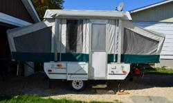 2006 Fleetwood TAOS 8FT Tent Trailer. Good condition. Includes awning, bug tent, indoor/outdoor stove. Sleeps 6. Located in New Liskeard. Can be pulled by small car or min-van. Asking $4,000 OBO. Email dan_girard2000@hotmail.com for info.