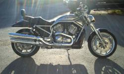 Nice Harley Street Rod complete with wind shield and backrest.Priced to sell or trade for soft tail.Exellent condition.