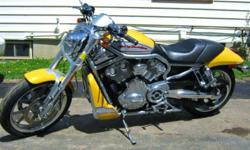 NEW PRICE!   2006 Harley Davidson VRSCR, V-rod (streetrod), new brakes, tires and battery, Caliber custom exhaust, sounds great, ready to go for spring.  Bike is very clean and well maintained.  Currently stored in heated showroom.  Call Rob (705)716-6873