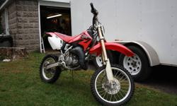 All original 2006 CR 85  R bought new in 2009. Original tires and chain, no dissapointments with this bike, well maintained, son grew too big for it. Have some youth gear as well. If interested please call 705 742-3091 or 705 749-7636.