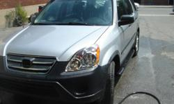 Make Honda Model CR-V Year 2006 Colour silver kms 147500 Trans Automatic AUTOMATIC 147,500kms Air Conditioning, Power windows, power door locks, am/fm/cd, cruise control, abs brakes 4wd. Price Includes 4 wheel alignment, mechanical inspection and emission