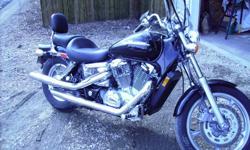 2006 honda shadow spirit 1100 in excellent condition.$6000.00