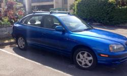 Make Hyundai Colour Royal Blue Trans Manual kms 220800 Selling my 2006 Hyundai Elantra! I am going traveling for an extended period of time and there is no point of me keeping the vehicle! Sad to see it go. Runs great, never had any issues. Steel rims,