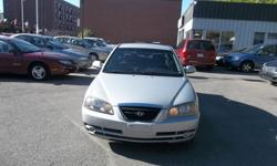 Make Hyundai Model Elantra Year 2006 Colour silver kms 199000 Trans Automatic Automatic, AC, 4 Doors Sedan, 4 cylinders engine very good in gas, power windows, power lock, cruise control, power mirror, clean car, rust proofed, no rust , very well