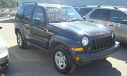 Make Jeep Colour black Trans Automatic kms 232000 2006 Jeep Liberty 4x4 black automatic 232,000km Finance for $1500 down and $89 a week In House Financing! You are approved!
