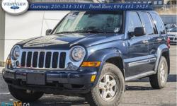 Make Jeep Model Liberty Year 2006 Colour Blue kms 175173 Trans Automatic Price: $9,988 Stock Number: 15389A Interior Colour: Beige Cylinders: 4 Fuel: Diesel