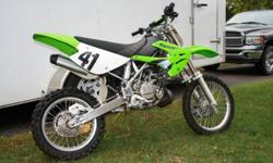 All original 2006 KX 85 bought new in 2009. Well maintained, no dissapointments here. Kids too big for it now, also have some youth gear. If interested call 705 742-3091 or 705 749-7636