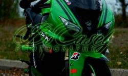 Selling my 2006 Kawasaki ZX-10R Ninja. (orig. owner).    This bike has had everything done to it, with the exception of engine work.  Here are some of the highlights:   Custom seat from Custom Seat Creations Custom bar end and spool sliders Front and rear