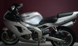 2006 KAWASAKI ZZR600 in excellent condition. No marks on bike and to many extras to list. Comes with original parts. No time to ride due to work. o.lalone@hotmail.com or call 705-380-0095