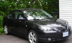 Make Mazda Model mazdaspeed 6 Year 2006 Colour black kms 113000 Trans Manual 2006 mada 3 4 cyl 5 speed man , trans , fully loaded gt with sunroof 17 inch alumn wheels 3.850.00 or best offer , call fred 705 2539052 or 705 989 9052 , test drive it today ,,