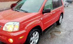 Make Nissan Year 2006 Colour RED Trans Automatic kms 94000 AUTOMATIC, ---94000KMS --4wd Parked on our lot at 475 Gladstone ave. Options: Air conditioning,cruise control, alloy wheels, power windows, power door locks, am/fm,cd, sunroof, power mirrors, 4