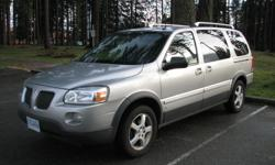 Trans Automatic kms 161000 For sale is my 2006 Pontiac Montana SV6, 3.5L engine, Auto transmission, seating for 7 with lots of room and with only low 161,xxx kilometers. Vehicle is a full option with power locks, windows, heated-mirrors, cruise control,