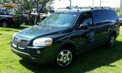 Make Pontiac Model Montana SV6 Year 2006 Colour Green kms 205700 Trans Automatic 2006 Pontiac Montana SV6 with DVD 3.5l V6, Automatic, ABS, A/C, Cruise control, Power windows/locks/mirrors & seat. 205,700 km. Certified with E-Test included. Taxes are not