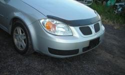 """DISMANTLING 2006 PONTIAC PERSUIT FOR PARTS, STARTS AND DRIVES, REAR END DAMAGE, GOOD 15"""" TIREES (ALL SEASON), GOOD ENGINE AND TRANNY, REASONABLE PRICES, (613)761-0359"""