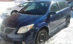 Make Pontiac Model Vibe Colour BLUE Trans Automatic kms 151000 VIN # 5Y2SM65876Z463059 AUTOMATIC 151,250 KMS 4 WHEEL DRIVE Last tested emission 2010, 2013 and April 4th 2015 full pass OBD pass good till april 4th 2016 . ABS BRAKES, POWER WINDOWS, POWER