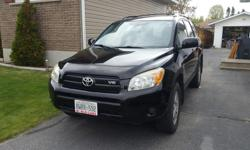 Make Toyota Colour Black Trans Automatic kms 107120 Selling a black 2006 Toyota Rav4 Sport edition. Love this car and would love to keep it but I'm going abroad for two years. The car is in excellent condition, has 107120km, with oil changes done