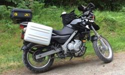 Up for sale is my super fun F 650 Gs. Great for that long highway adventure, or exploring on logging roads. The bike is in great shape and has been well cared for and maintained. Some of the features are: touratech fairing, tank bag and rad guards,BMW