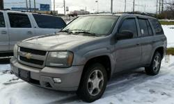 Make Chevrolet Model Trailblazer Year 2008 Colour Grey kms 264750 Trans Automatic 2008 Chevrolet Trailblazer LT 4X4 Roof rack and trailer hitch installed! 4.2l, V6, Automatic, A/C, Cruise Control, Power windows/locks/mirrors & seat. 264,750 km. Certified