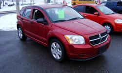 Make Dodge Model Caliber Year 2007 Colour Red kms 186500 Trans Automatic 2007 Dodge Caliber with 186500 km , Automatic & AC. Will come Certified . Come Visit Us Today 916 Montreal Road Ottawa Ontario We are here to Serve you and help you get behind the
