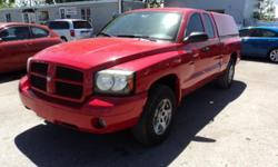 Make Dodge Colour red Trans Automatic kms 196200 if your looking for a work pick up this is it , look no further , this 2007 clean dodge Dakota 2wd is amazing , come check it out for a test drive , air conditioned , power seats , power locks , power
